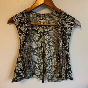 Ecote urban outfitters boho vest